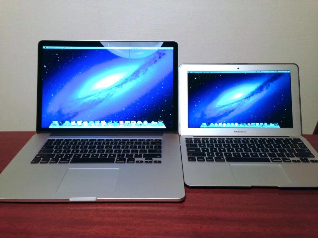 Macは同時に2台使うのがよい