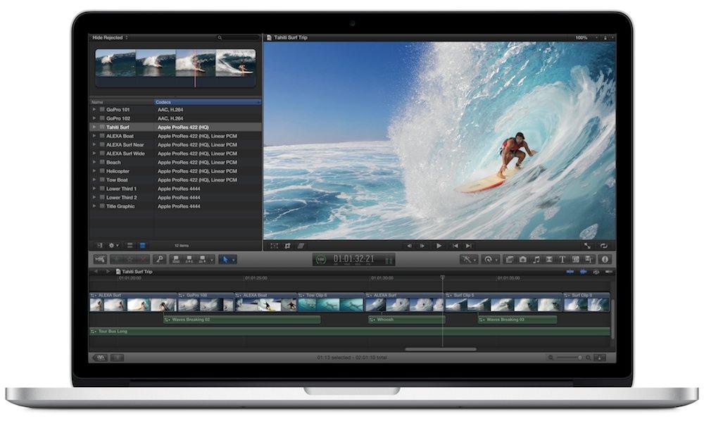 卓越した性能のMacBook Pro Retinaディスプレイモデル (15インチ)はメインMacにもってこい