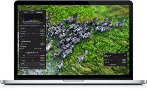 焼き付き問題の発生したMacBook Pro Retinaディスプレイモデルの修理について