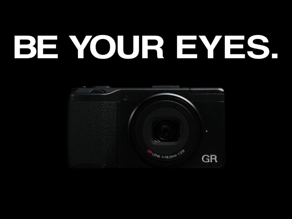 ペンタックスリコーイメージング新「GR」のプロモーションビデオ「By Your Eyes」