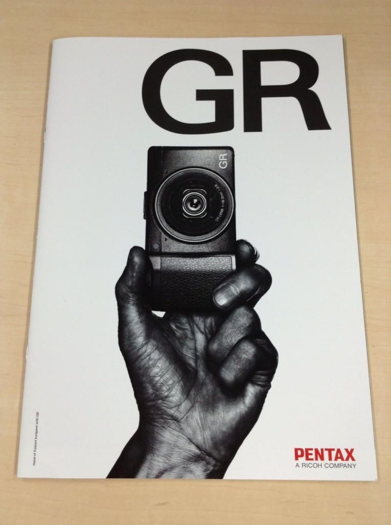 リコーの新しいコンパクトデジタルカメラ「GR」をゲットしました