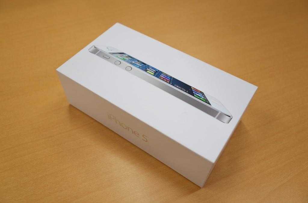 iPhone 5 64GB – 大容量がありがたい