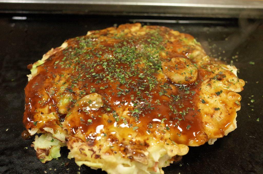 東京浅草「あぽろ」のお好み焼き、もんじゃ焼きが激しく美味しい!
