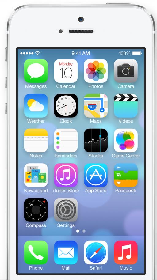 iOS 7 は iPad をどのように変えるのか