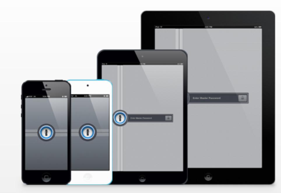 パスワード管理ソフト「1Password for iOS」 が約半額の700円になっています