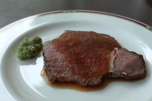 美味しいローストビーフを心底堪能した! (第一ホテル東京シーフォート「グランカフェ」)