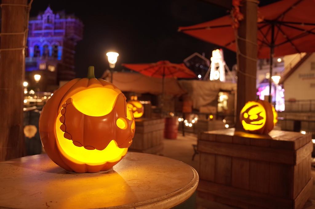 ディズニー・ハロウィーン(2013)の夜景写真をGRで撮影する (東京ディズニーシー)