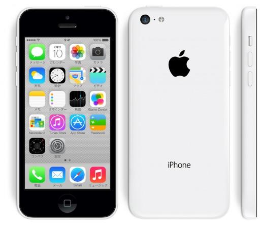 ホワイトのiPhone 5cはMacBookを思い出させる