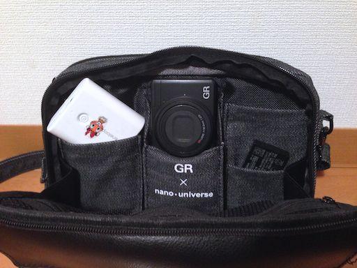 「GR x nano・universe」のストリートバッグが使いやすくて手放せない