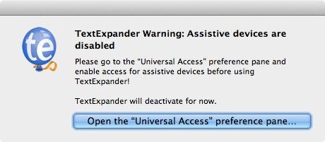 OS X 10.9 Mavericks でTextExpander を動作させる方法