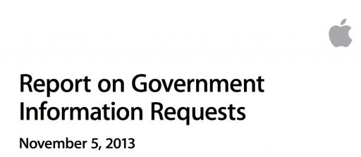 Apple、「政府による情報要請に関する報告書」を公開