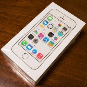 【このiPhoneが欲しかった!】SIMフリーiPhone 5sをゲット