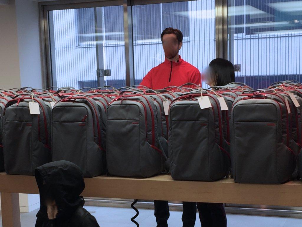 Apple Store銀座「Lucky Bag 2015」を無事ゲット!肝はリストバンドにあり