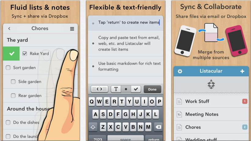 iOS向けWriteRoom、TaskPaperがサポート中止。代替アプリはPlainText 2とListacularです