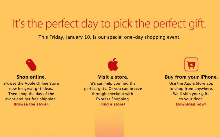 2014年1月10日「Red Friday」のiPad価格を予想!(Apple Store香港)