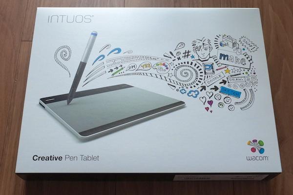 ワコムのペンタブレットIntuos (CTL-480/S0) で楽しいイラスト制作