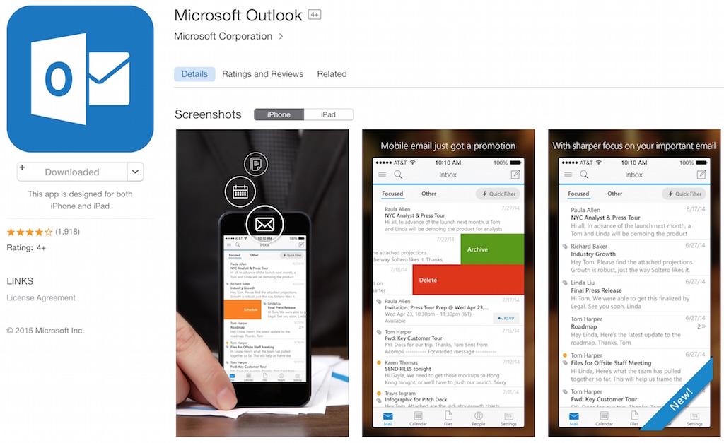 MicrosoftがiOSデバイスで存在感を示しつつある