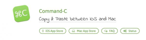 Command-CはMacとiOS間でテキストや画像を簡単に共有できるアプリ!