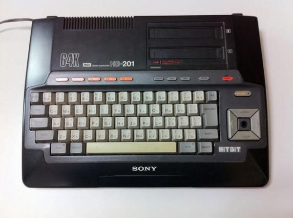 ソニーのMSXパソコン「HitBit HB-201」が私の原点。これから始まったんだ