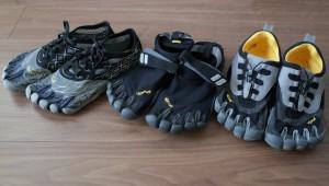 ビブラムファイブフィンガーズを履いて、足裏の筋肉を刺激し裸足の感覚を取り戻せ!