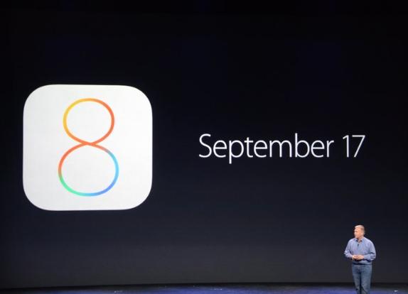 Apple、iOS 8が9月17日より利用可能に。