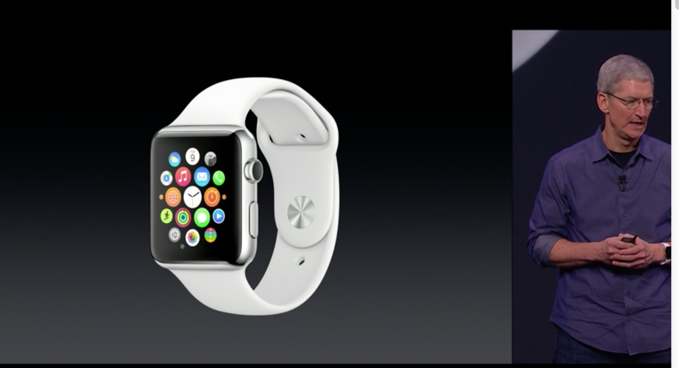 Apple、Apple Watchを発表