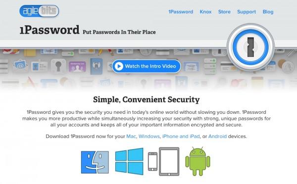 パスワード管理ソフト「1Password for Mac」 が特価4200円になっています