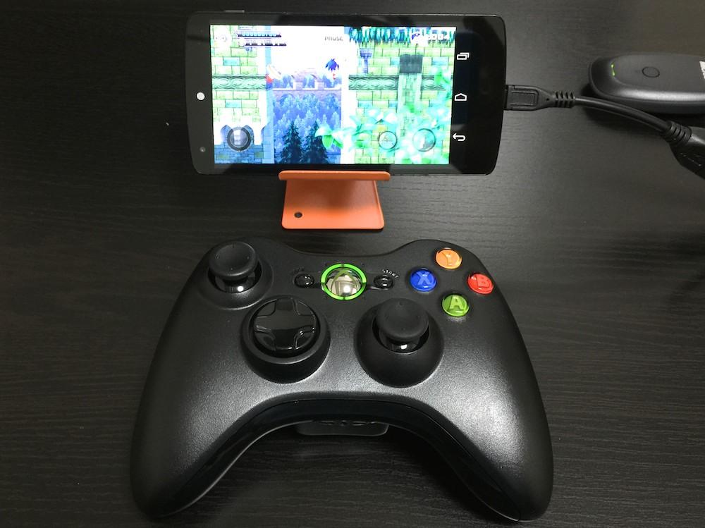 AndoridスマホNexus 5でゲームパッドを使ってゲームを楽しむ方法
