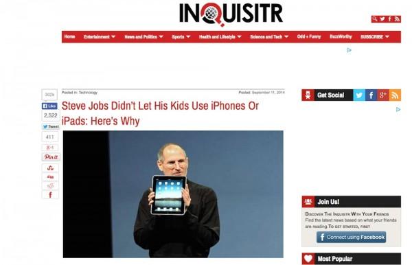 子どもにiPhone・iPadばかり触らせるな