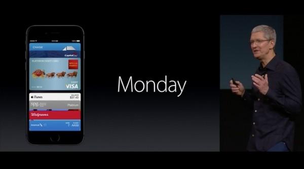 Apple Payが10月20日月曜日より開始