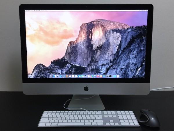 7年ぶりのiMacはサイコー!