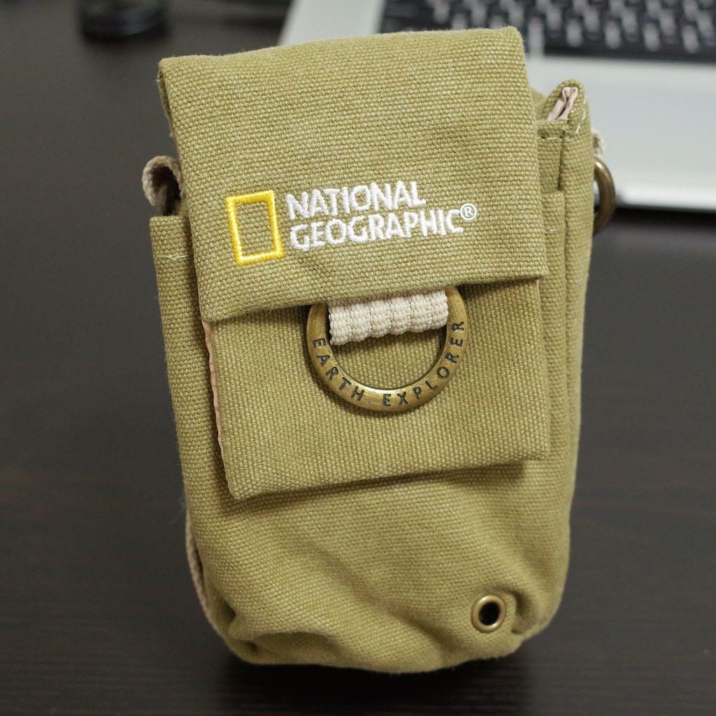 GRにぴったり! ナショナルジオグラフィックのリトルカメラポーチ「NG1146」