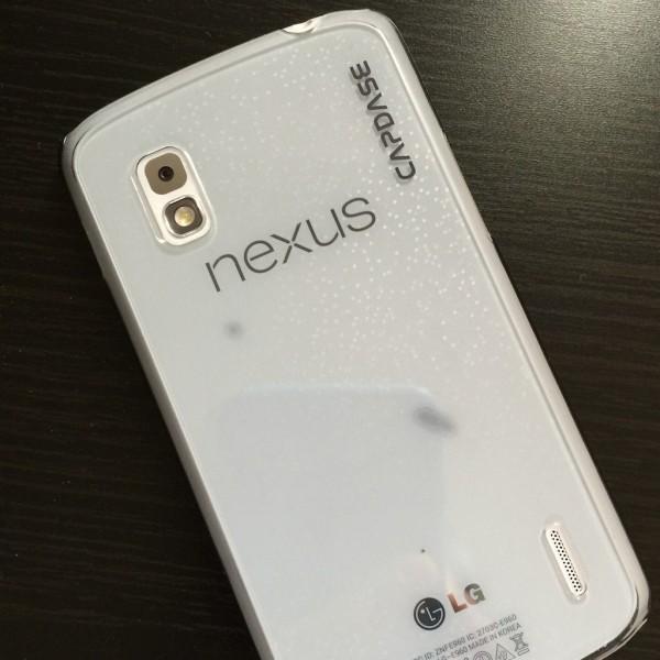 Google Nexus 4 (ホワイトモデル、リファービッシュ)をExpansysで輸入した