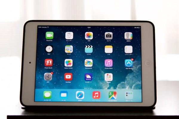 初代iPad miniはiOS 7.1.2のままにしています