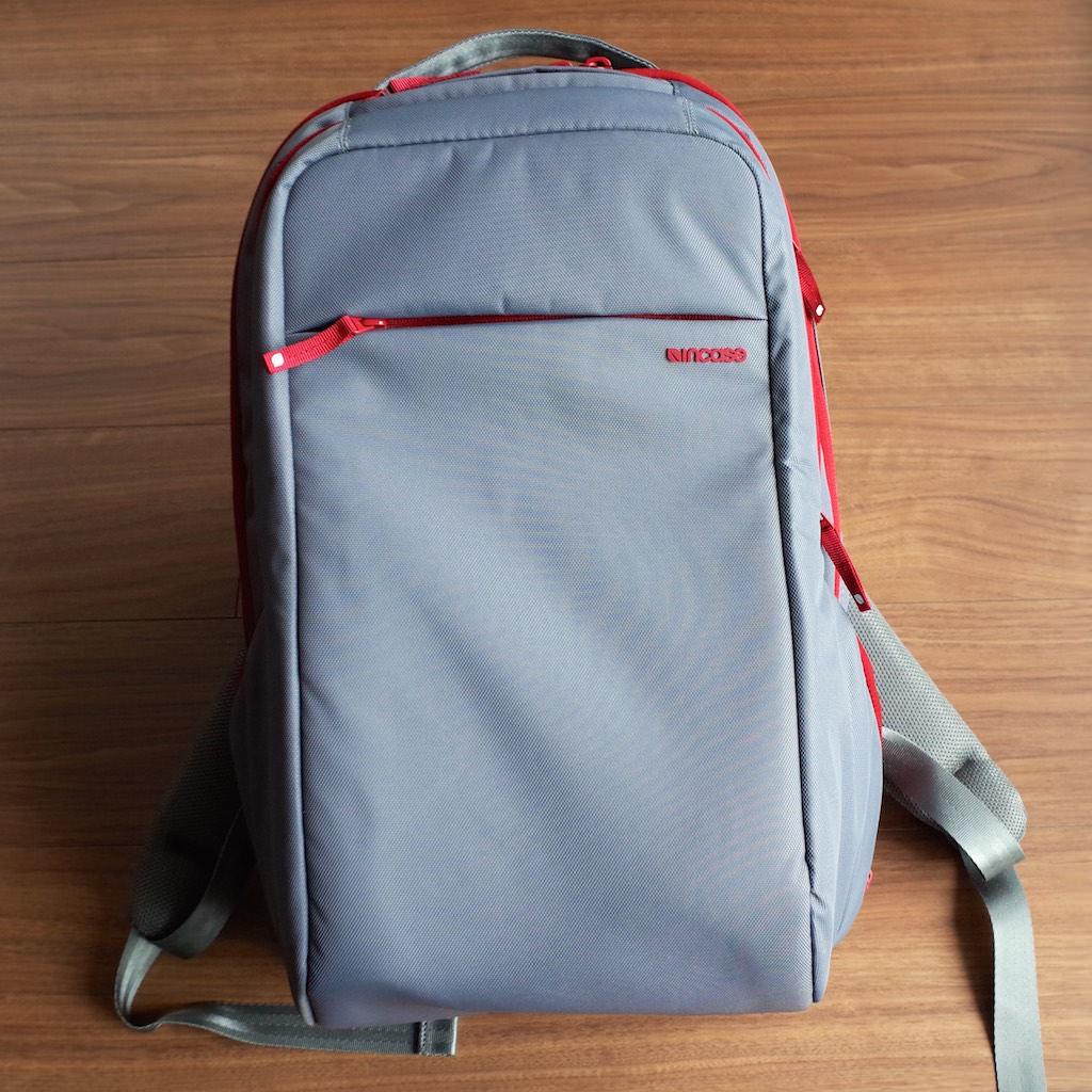 【レビュー】Incase ICON Slim Pack BackpackはMacBookの持ち運びにうってつけ!