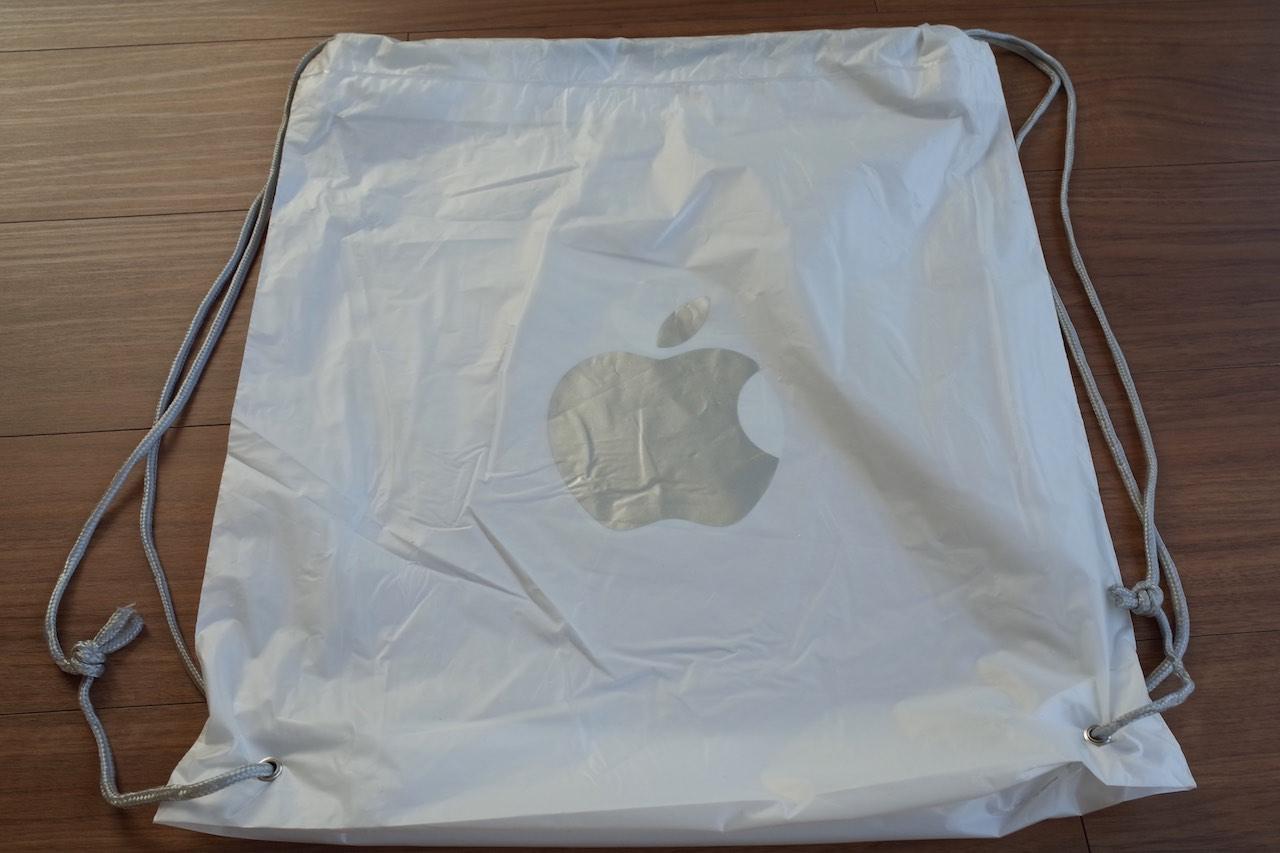 Apple Storeのビニール袋が捨てられない!