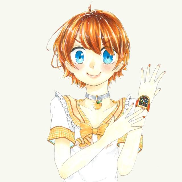 「オーケーマック」2015年4月のイラストは「Apple Watch」を着けた女の子!