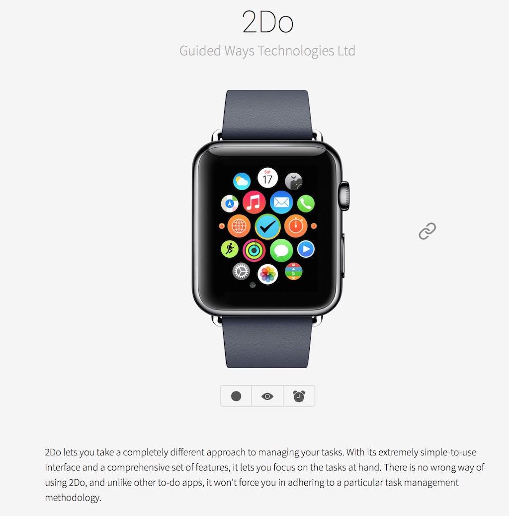 タスク管理アプリ「2do」がApple Watchに対応しました!