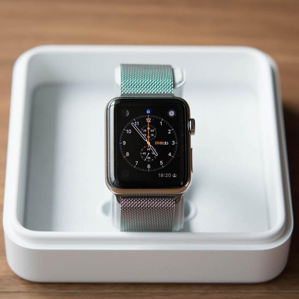 Apple Watch、ミラネーゼループが素晴らしい!