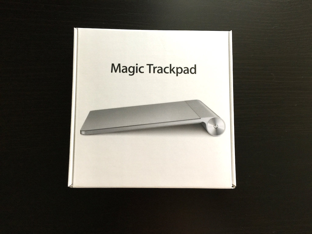 Magic Trackpad でMacの操作が飛躍的に向上する