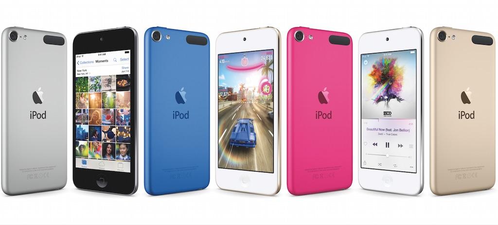 ついに新型 iPod touch(第6世代)が出た!値段は24,800円から
