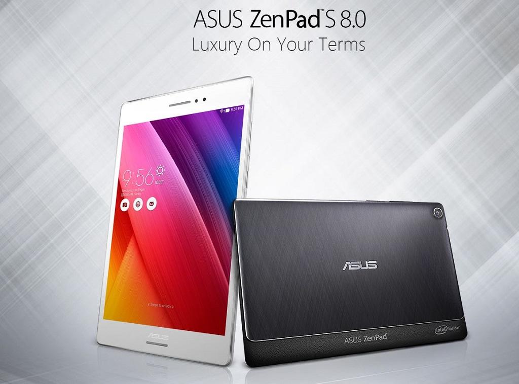 ASUS、Androidタブレット「ZenPad S 8.0」等を日本国内で発表