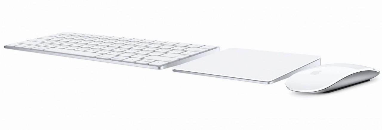 Apple、Magic Keyboard、Magic Mouse 2、Magic Trackpad 2を発表!