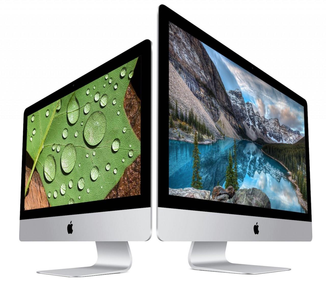 Apple、21.5インチiMac Retina 4Kディスプレイモデルを発表