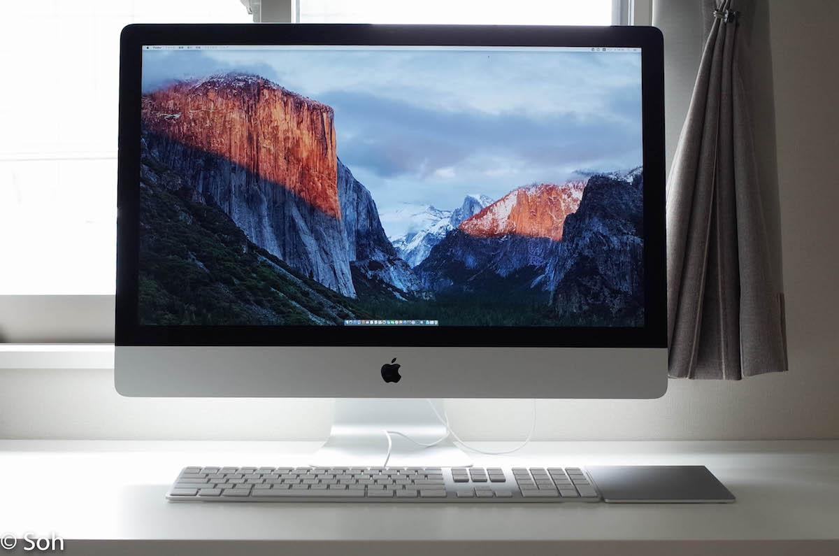 今さらだけどOS X El Capitan (10.11) をiMac 5Kにインストールした