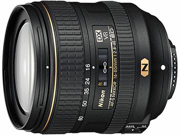 ニコン、AF-S DX NIKKOR 16-80mm f/2.8-4E ED VRが94,350円で販売中