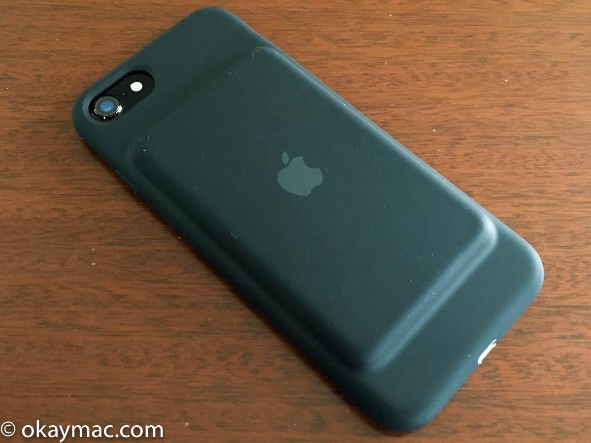 バッテリーとケースの分だけ重くなるので、当たり前なのですが、iPhone 7の軽さが失われてしまうことは知っておく必要があります。