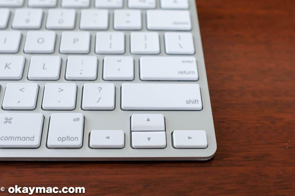 Apple Wireless Keyboardのカーソルキー