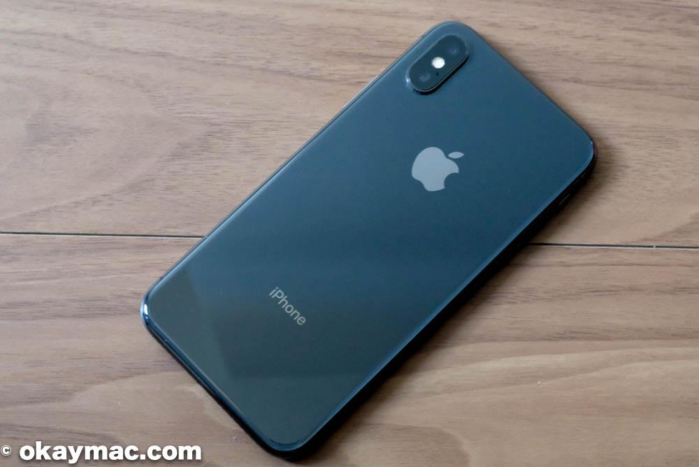 私の iPhone X (スペースグレイ)