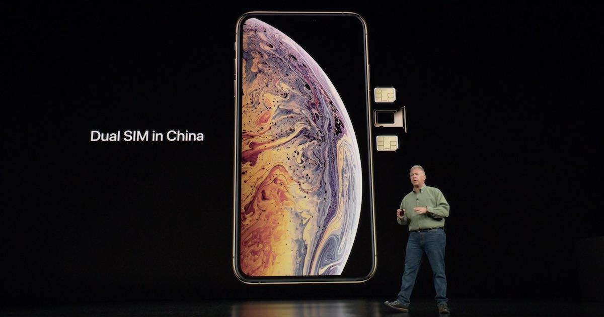 中国版iPhoneはナノSIMを2枚刺せる